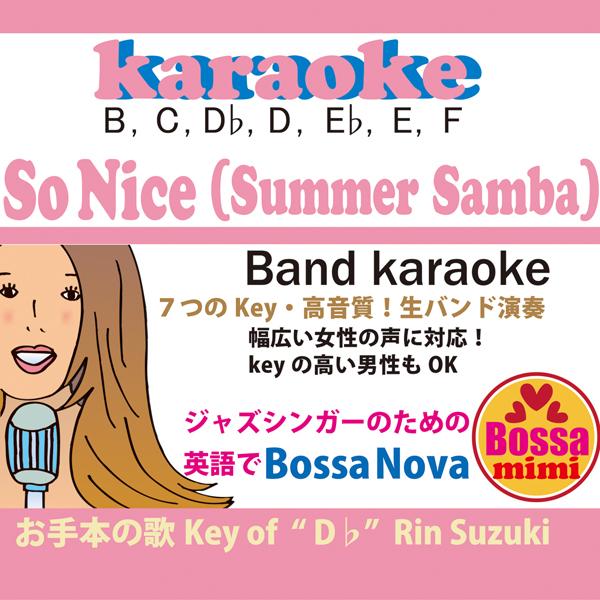 So nice(summer samba)7key karaoke Rin Suzuki